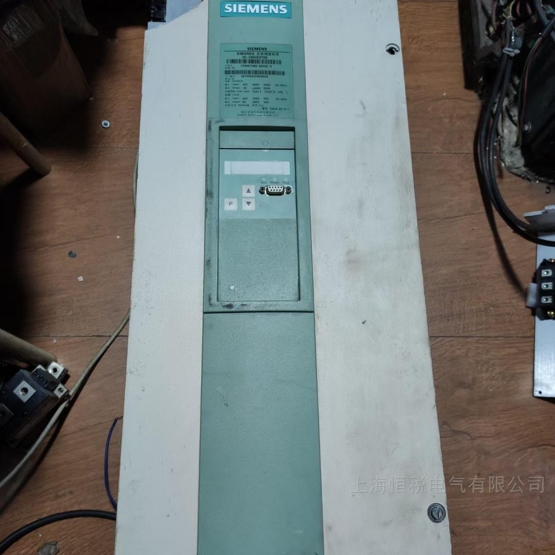 德国西门子直流调速装置励磁电压不上去