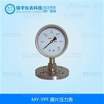 MY-YPF膜片压力表-*