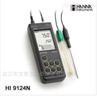 HI9124防水型便携式pH/温度测定仪