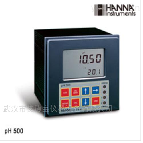 镶嵌式在线微电脑pH/温度控制器
