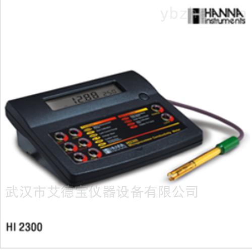 实验室台式EC/TDS/NaCI/温度测定仪