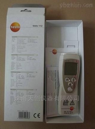 单通道NTC温度仪testo 112