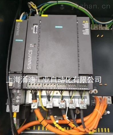 西门子802D数控系统启动不了(驱动器亮红灯)