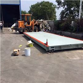 scs工地地磅80t带打印 80吨汽车电子磅秤生产