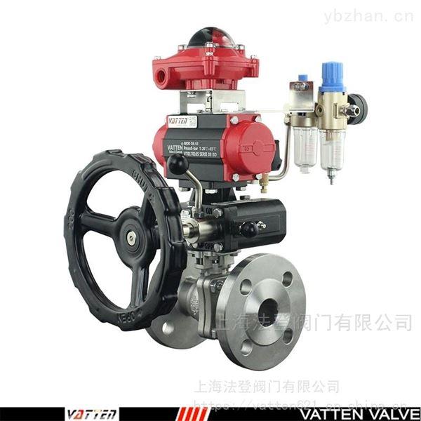 气动排气阀的使用安装说明 气动法兰球阀