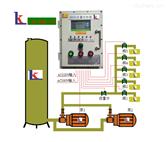 防爆型双联泵多工位配发料定量控制系统移动小车