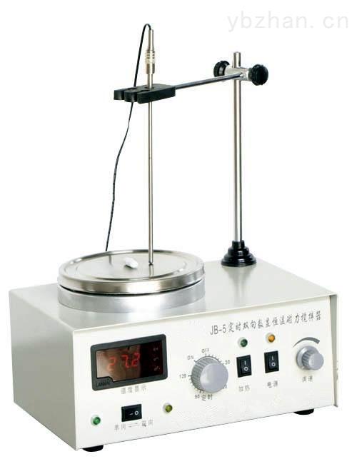 定时双向数显恒温磁力加热搅拌器
