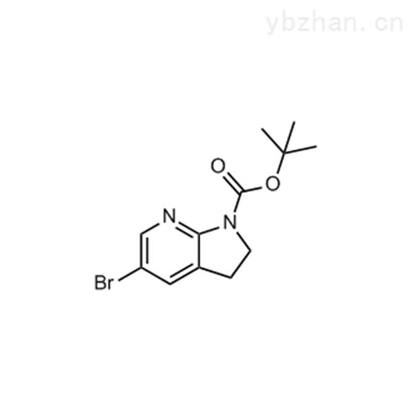 tert-Butyl 5-bromo-2,3-dihydro-1H-pyrrolo[2,3-b]pyridine-1-carboxylate