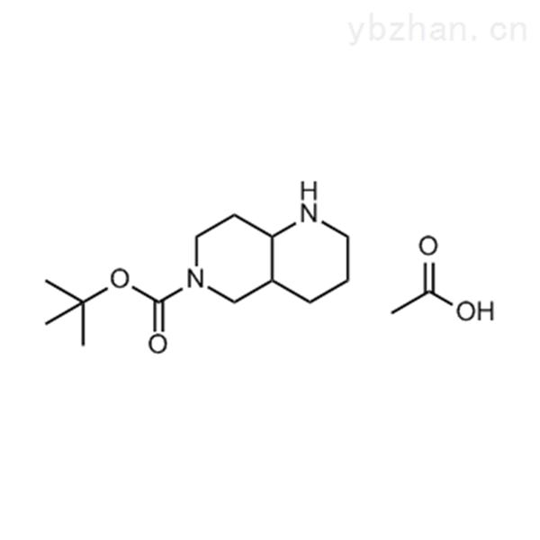 tert-Butyl octahydro-1,6-naphthyridine-6(2H)-carboxylate acetate