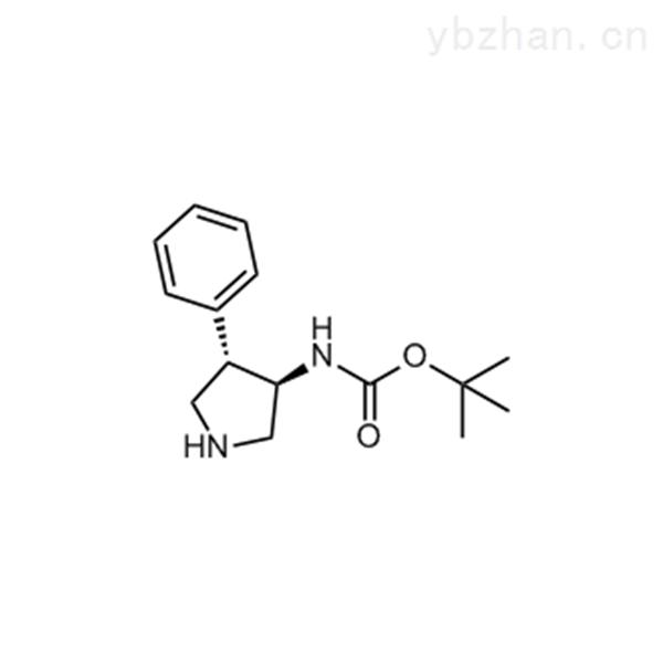 tert-Butyl ((3R,4S)-4-phenylpyrrolidin-3-yl)carbamate