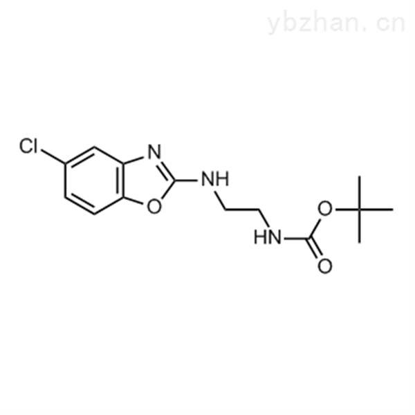 tert-Butyl (2-((5-chlorobenzo[d]oxazol-2-yl)amino)ethyl)carbamate