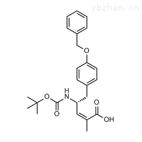 (R,Z)-5-(4-(Benzyloxy)phenyl)-4-((tert-butoxycarbonyl)amino)-2-methylpent-2-enoic acid