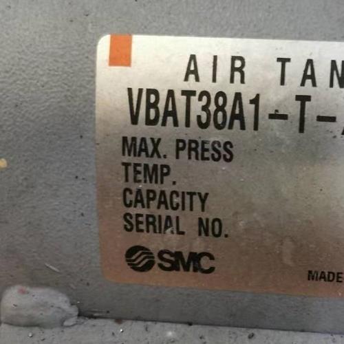 SMC增压阀用38升储气罐VBAT38A1-T-X104