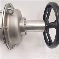 VATTEN手动放料阀图片资料 涡轮操作上展下展阀