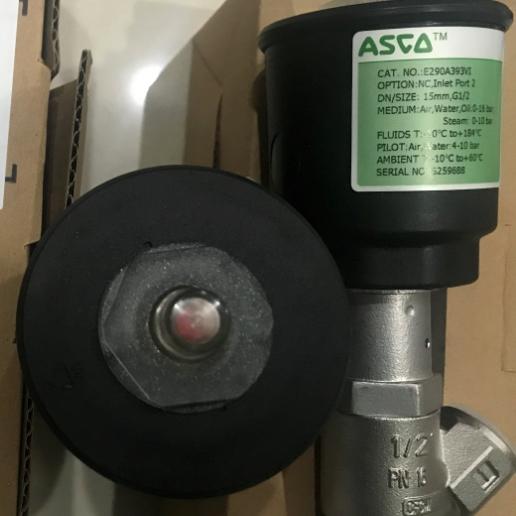 美国ASCO气控式角座阀E290A791E