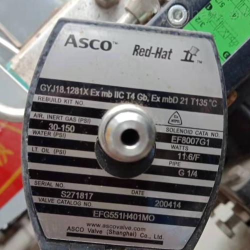 ASCO真空系统用电磁阀G450ARSK0350A00