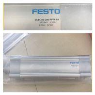 FESTO不锈钢圆形气缸-DSBC-80-20-PPVA-N3