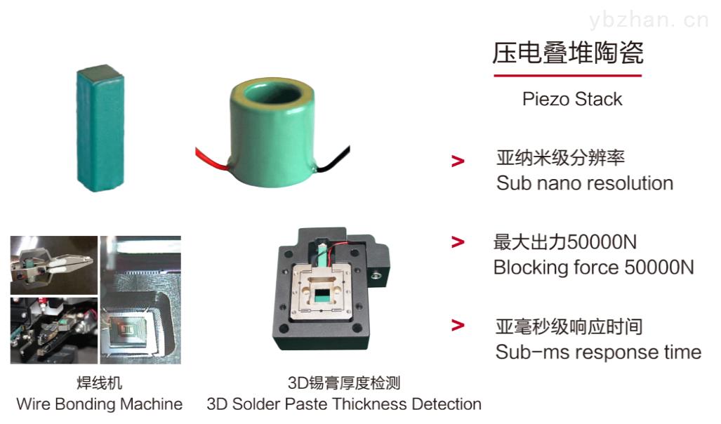 哈尔滨芯明天科技有限公司压电陶瓷促动器系列产品介绍