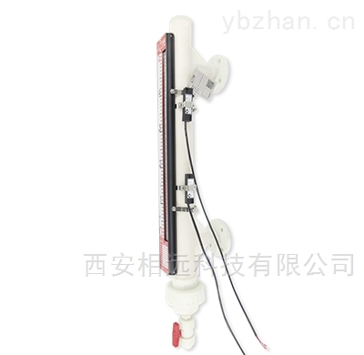 重庆酸碱储罐防腐PVC,PP磁翻板液位计厂家