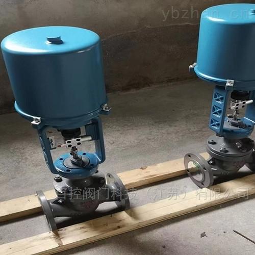 电动衬氟单座调节阀 电动执行器