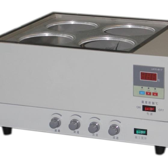HH-4J數顯恒溫水浴鍋磁力攪拌器 (雙排)