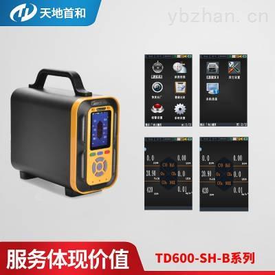 TD600-SH-B-SO2F2手提式硫酰氟分析仪10万条数据存储容量