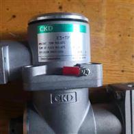 DSG-15-AC220V日本CKD二连气体遮闭阀快开型