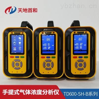 TD600-SH-B-C4H10手提式异丁烷分析仪防爆等级:ExiaⅡCT4
