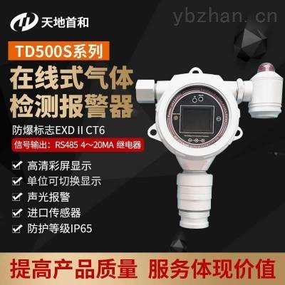 声光报警在线式二氧化碳气体超标检测报警仪探头TD500S-CO2