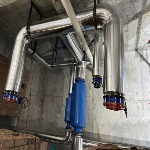 盖州市蒸汽管道保温施工