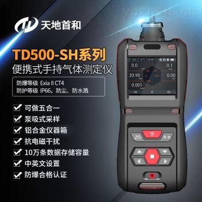 TD500-SH-CH4S防爆型便携式甲硫醇探测仪_2合1气体测定仪