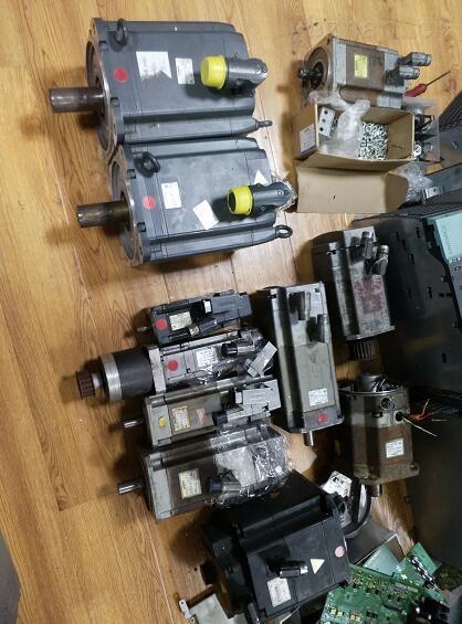 舟山西门子810D系统钻床伺服电机更换轴承-当天检测提供维修