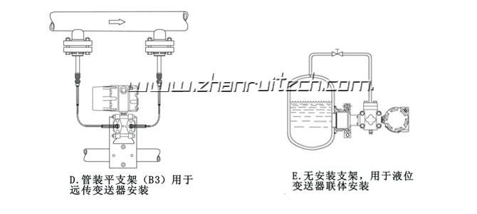 3051压力变送器安装方式2