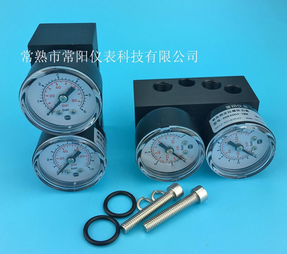 西门子定位器单作用压力表模块6DR4004-1M,Siemens定位器单作用压力表组件6DR4004