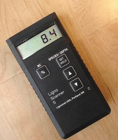 感应木材湿度计