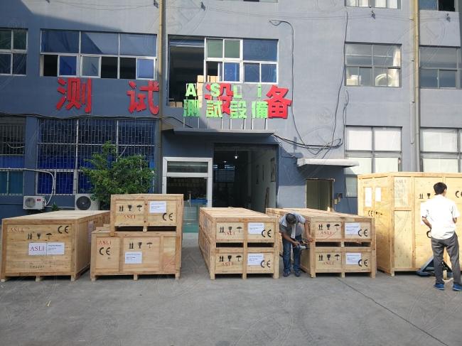 高低温温度冲击箱公司出货木箱