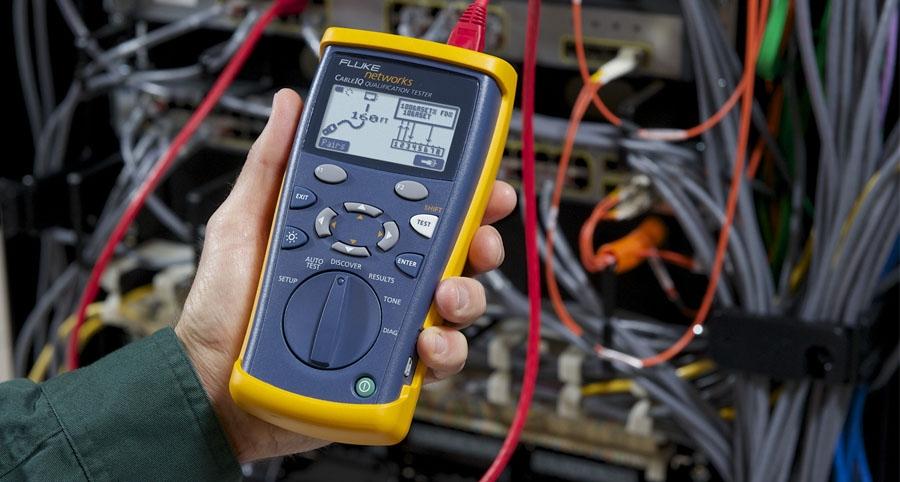 Fluke CableIQ电缆鉴定测试仪