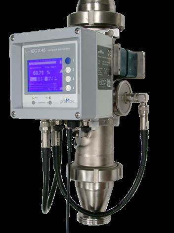 在线微波固含量、锤度测量仪